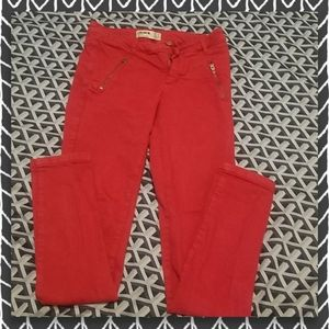 Colour Cotton On Red Jeans